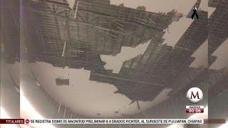 Sismo causa daños en Oaxaca