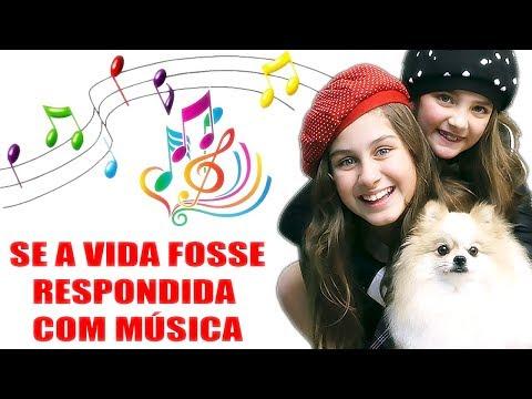 SE A VIDA FOSSE RESPONDIDA COM MÚSICA - NA ESCOLA - Mileninha