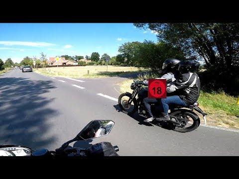 Sex Auf Dem Bike / Fast Crash / Mit Badminion  In Den NL