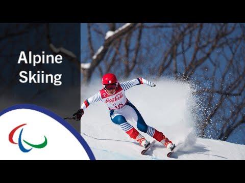 Alpine Skiing: Super-G   PyeongChang2018 Paralympic Winter …