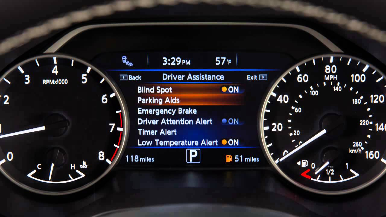 2016 Nissan Maxima - Forward Emergency Braking (FEB ...