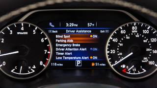 2016 Nissan Maxima - Forward Emergency Braking (FEB) System (if so equipped)