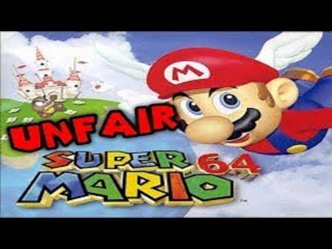Kratos Streams Unfair Mario 64: It's Really Unfair!