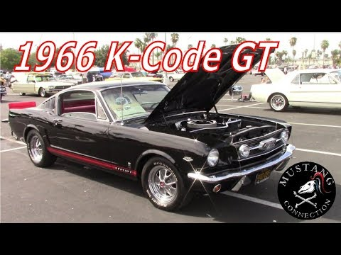 1966 Mustang GT Fastback K-Code ( 289 Hipo) @Fabulous Fords Forever 2018