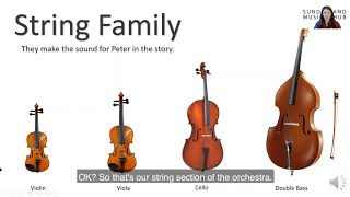 Peter and The Wolf: Introduction to the Orchestra