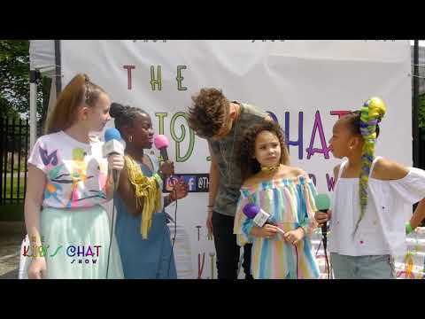 Kids Chat Show interviews Grant Knoche at the Queens Youth Music Festival