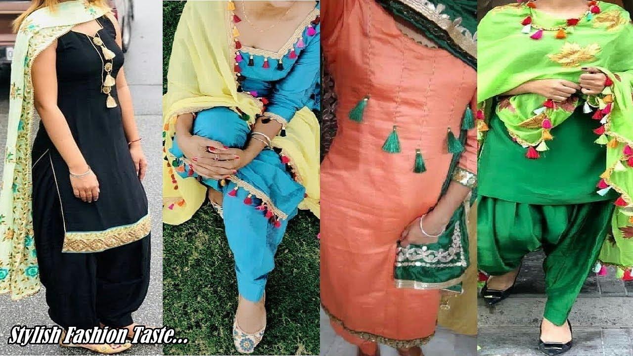 Latest Boutique Style Salwar Suit New Fashion Suit Design Punjabi Suit Design For Girls Youtube