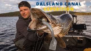 The Dalsland Canal Expedition - Fishing for GIANT pike in Sweden