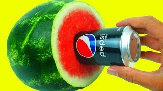 10 Smart Food Ideas -  Watermelon Hacks!