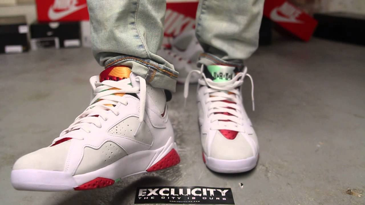 the air jordan 7 retro hare