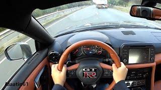 Nissan GTR 2017 POV TEST DRIVE