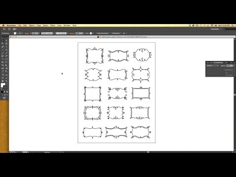 How to Create a Vector Decorative Frame in Illustrator