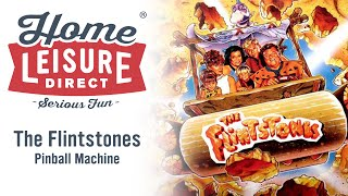 The Flintstones Pinball Machine (Williams 1994) - With Decorated Speakers (sold)