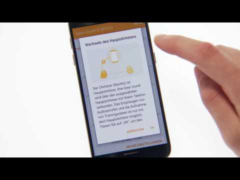 Samsung Gear Iconx Einrichtung Mit Gear Manager