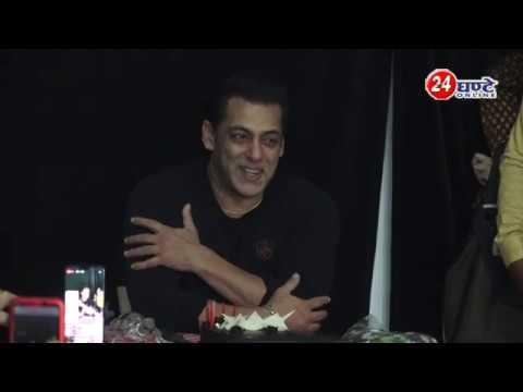#SalmanKhan #Birthday #Dabang3 इस साल सबसे ख़ूबसूरत तोहफा मिला है, #Fans ने भी इस मौहौल में दिखाया दम