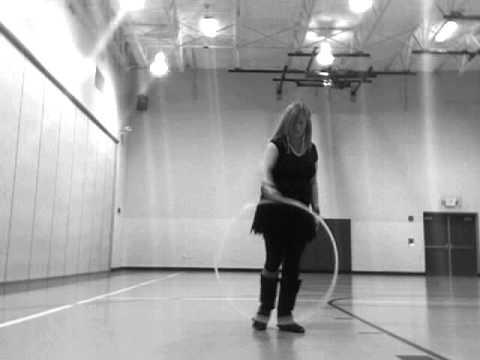 Hoop dance at Hocking Hills Elementary School