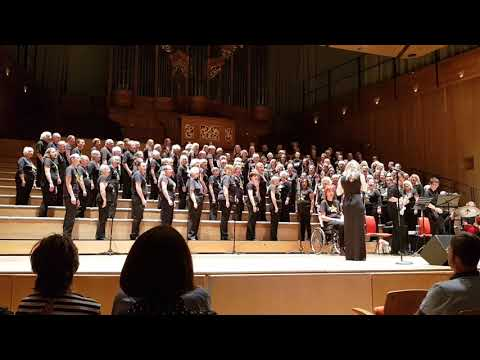 Rock Choir, at The Bramall in Birmingham 15/07/2018 with live band. Human