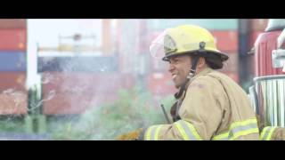 GMA Firefighter Challenge - Tacoma FD, Station 12 - Washington…