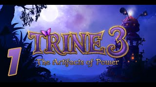 Trine 3 Gameplay: #1 Breathtaking! (w/ Zueljin and Impulse)