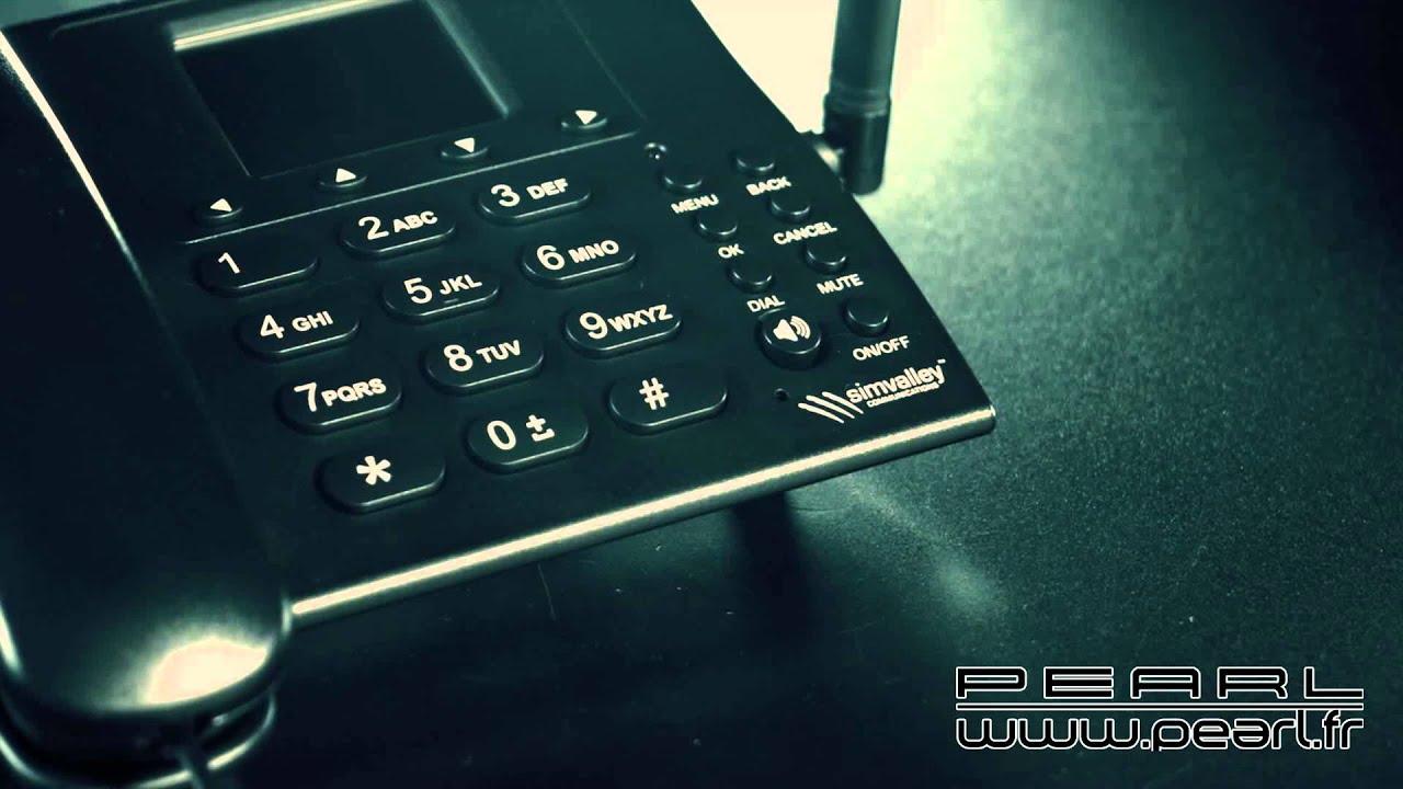 Px3838 téléphone de bureau gsm ttf 402.hs avec fonction