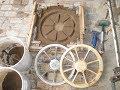 Литье алюминиевых колес(в холодную форму) для ленточной пилорамы