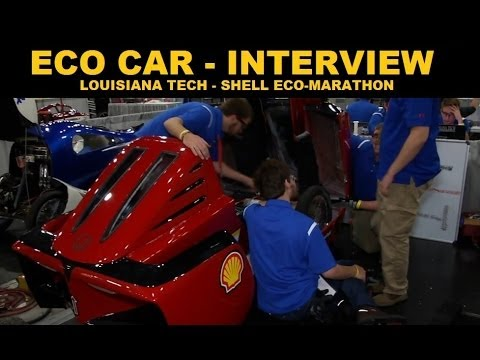 Eco Cars - Shell Eco Marathon - Louisiana Tech Interview