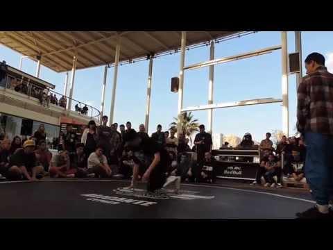 Red Bull bc one 2014 Mouad VS Dyca