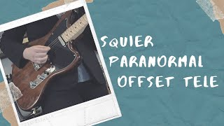 Squier Paranormal Series Offset Telecaster Demo & Review