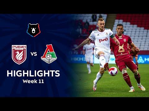 Rubin Kazan Lokomotiv Moscow Goals And Highlights
