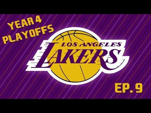 YEAR 4 PLAYOFFS - Los Angeles Lakers NBA 2K18 MyLeague Ep. 9