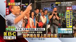 「韓流」吹進屏東市!上萬民眾擠爆「要看韓國瑜」