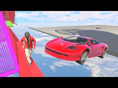Thumbnail: DODGE THE CARS! - GTA 5 Funny Moments #646