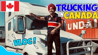 DRIVER  IN CANADA | NEW JOB | VLOG | PART 1 | Prabh Korwa