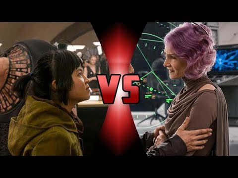 The Last Jedi - Rose vs Holdo : Which Character is the Worst?