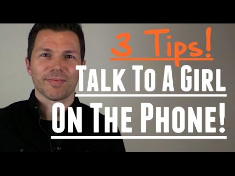 How To Talk To A Girl On The Phone - 3 Tips I Learned From Doing Voice Overs!