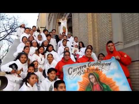 FEAST OF OUR LADY Of GUADALUPE TORCH RUNNERS MIDWOOD, BROOKLYN