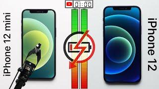 iPhone 12 mini vs. iPhone 12 Battery Test