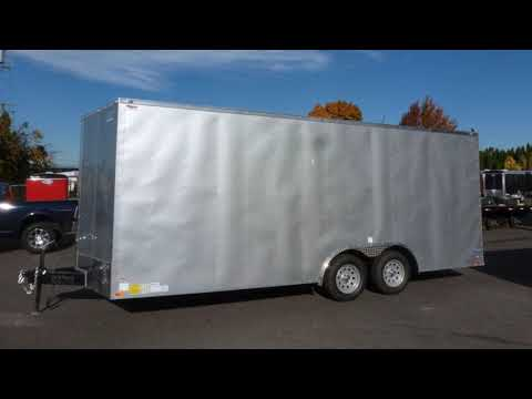 Continental Cargo 8.5 X 20 7K V-Series RAMP | Portland, OR | Trailer City