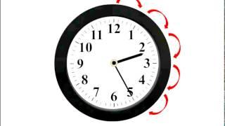 Изучаем время по часам со стрелками. Часы. Часть 2
