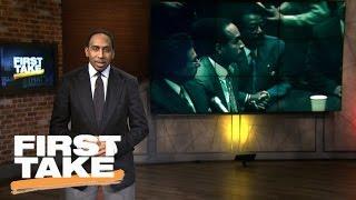 Stephen A. Celebrates 'O.J.: Made in America' Win | Final Take | First Take | February 27, 2017