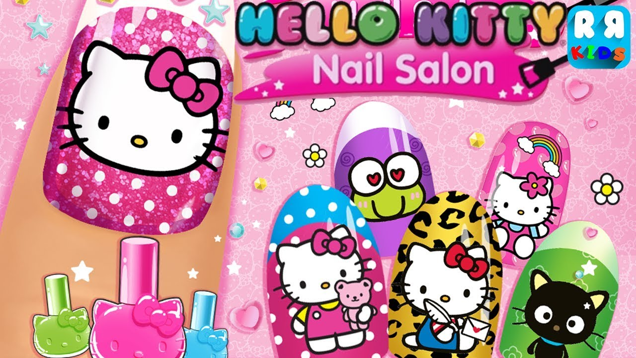 Hello Kitty Nail Salon Unlock All Nail Designer Games For Girls