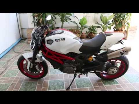 Ducati Monster 796 S2R Sound ท่อ Slip On Termignoni Titanium