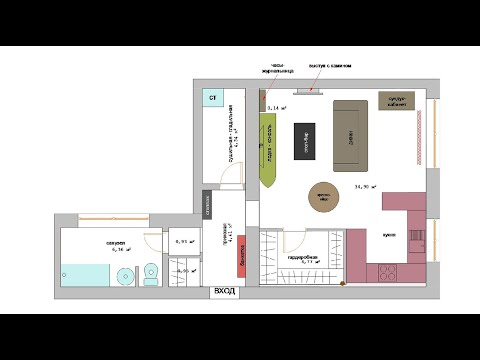 Четырёхкомнатная квартира ул. Бекетова