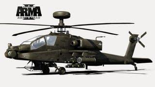 Обучение полёту на вертолёте в Dayz.