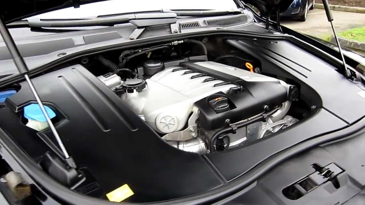 2004 Volkswagen Touareg V6  Black - Stock  5056b - Engine