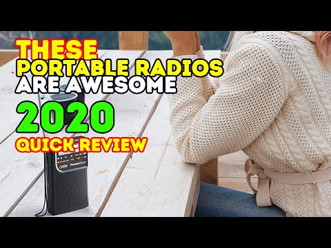 Best Portable Radios 2018 - best FM/AM Radios
