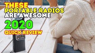 Best Portable Radios 2018 - best FM/AM Radios