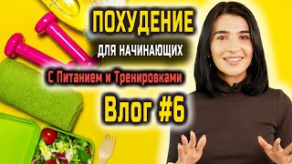 Легкая Тренировка Похудения в Домашних Условиях Для Женщин Питание УРОК 6 из 30