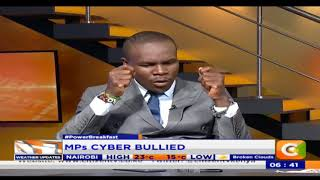 Power Breakfast: Newspaper review: MPs Cyberbullied