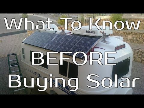 What To Know BEFORE Buying Solar